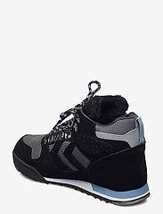 Hummel - NORDIC ROOTS FOREST MID - hoog sneakers - black - 2
