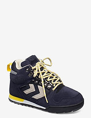 Hummel - NORDIC ROOTS FOREST MID - hoog sneakers - dress blue - 1