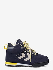 Hummel - NORDIC ROOTS FOREST MID - hoog sneakers - dress blue - 0