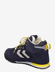 Hummel - NORDIC ROOTS FOREST MID - hoog sneakers - dress blue - 2