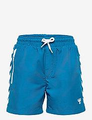 Hummel - hmlDELTA BOARD SHORTS - bademode - mykonos blue - 0