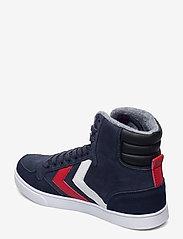 Hummel - SLIMMER STADIL DUO OILED HIGH - hoog sneakers - black iris - 2
