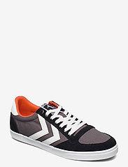 Hummel - SLIMMER STADIL LOW - laag sneakers - black - 1