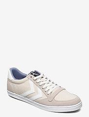 Hummel - SLIMMER STADIL LOW - laag sneakers - bone white - 1