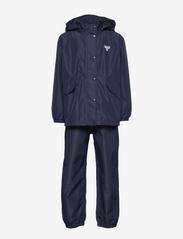 Hummel - hmlREVA RAINSUIT - outerwear - black iris - 1
