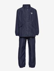 Hummel - hmlREVA RAINSUIT - outerwear - black iris - 2