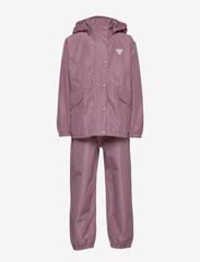 Hummel - hmlREVA RAINSUIT - outerwear - dusky orchid - 1