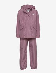 Hummel - hmlREVA RAINSUIT - outerwear - dusky orchid - 2