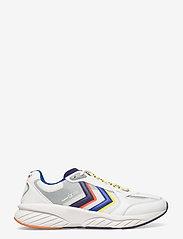 Hummel - REACH LX 3000 - laag sneakers - white/blackberry cordial - 1