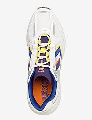 Hummel - REACH LX 3000 - laag sneakers - white/blackberry cordial - 3