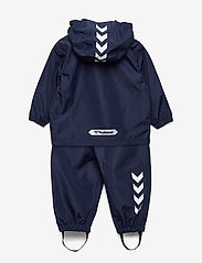 Hummel - hmlREVA RAINSUIT MINI - ensembles - black iris - 1