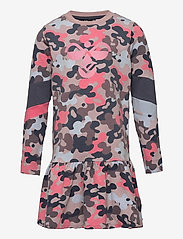 Hummel - hmlPOLLY DRESS L/S - jurken - bark - 0