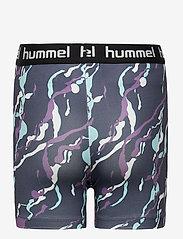 Hummel - hmlMIMMI TIGHT SHORTS - shorts - ombre blue - 1