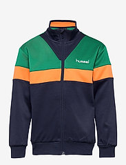 Hummel - hmlKENTARO ZIP JACKET - sweatshirts - ultramarine green - 0