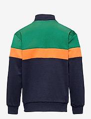 Hummel - hmlKENTARO ZIP JACKET - sweatshirts - ultramarine green - 1