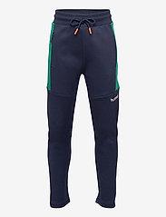 Hummel - hmlKENTARO PANTS - sweatpants - black iris - 0