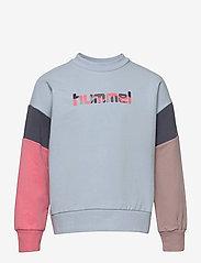 Hummel - hmlURSULA SWEATSHIRT - sweatshirts - blue fog - 0