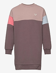 Hummel - hmlTILLY DRESS L/S - jurken - sparrow - 0