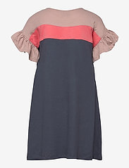 Hummel - hmlANNA DRESS S/S - kleider - ombre blue - 1