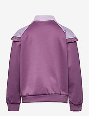 Hummel - hmlJEWEL ZIP JACKET - sweatshirts - chinese violet - 1