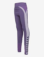 Hummel - hmlHARPER SEAMLESS TIGHTS - leggings - ombre blue - 3