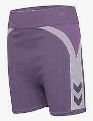 Hummel - hmlHARPER SEAMLESS TIGHT SHORTS - shorts - ombre blue - 2