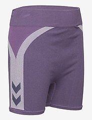 Hummel - hmlHARPER SEAMLESS TIGHT SHORTS - shorts - ombre blue - 3