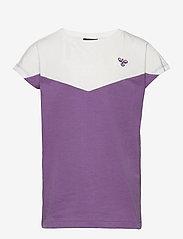Hummel - hmlCIETE T-SHIRT S/S - short-sleeved - chinese violet - 0