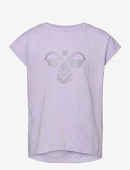 Hummel - hmlDIEZ T-SHIRT S/S - short-sleeved - pastel lilac - 0