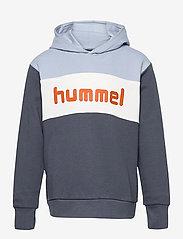 Hummel - hmlMORTEN HOODIE - kapuzenpullover - blue fog - 0