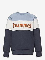 Hummel - hmlCLAES SWEATSHIRT - sweatshirts - blue fog - 0