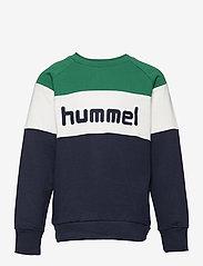 Hummel - hmlCLAES SWEATSHIRT - sweatshirts - ultramarine green - 0