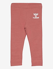 Hummel - hmlMAUI TIGHTS - leggings - faded rose - 0