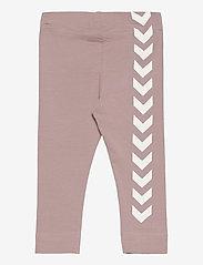Hummel - hmlMAUI TIGHTS - leggings - woodrose - 1