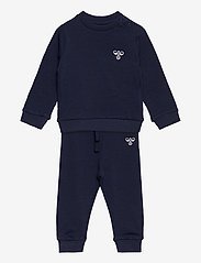 Hummel - hmlSANTO CREW SUIT - 2-piece sets - black iris - 0