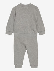 Hummel - hmlSANTO CREW SUIT - 2-piece sets - grey melange - 1