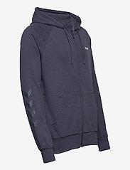 Hummel - hmlISAM ZIP HOODIE - hoodies - blue nights - 3