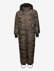 Hummel - hmlARTIC SNOWSUIT - snowsuit - chocolate chip - 0