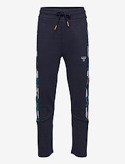 Hummel - hmlRACE PANTS - sweatpants - black iris - 0