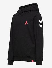 Hummel - hmlASTRALIS CUATRO HOODIE - hoodies - black - 2