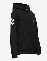 Hummel - hmlASTRALIS CUATRO HOODIE - hoodies - black - 3