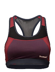POPPY SPORTS BRA - BLACK
