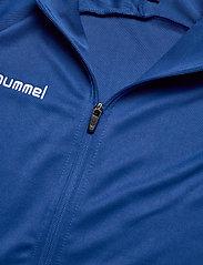 Hummel - AUTH. CHARGE POLY ZIP JKT WO - svetarit - true blue - 4