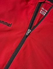 Hummel - AUTH. CHARGE MICRO ZIPJKT W - treenitakit - true red - 2
