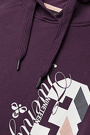 Hummel - CLASSIC BEE VENUS HOODIE - hoodies - blackberry wine - 2