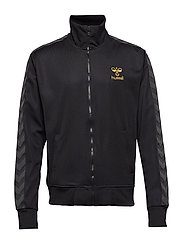 ATLANTIC ZIP JACKET N - BLACK/GOLD