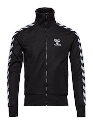 ATLANTIC ZIP JACKET N - BLACK/WHITE