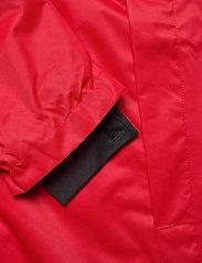 Hummel - AUTH. CHARGE ALL-WEATHER JKT - wandel- en regenjassen - true red/black - 4