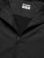 Hummel - REFLECTOR TECH JACKET - sweaters - black - 3