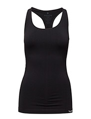 SUE SEAMLESS TOP - BLACK